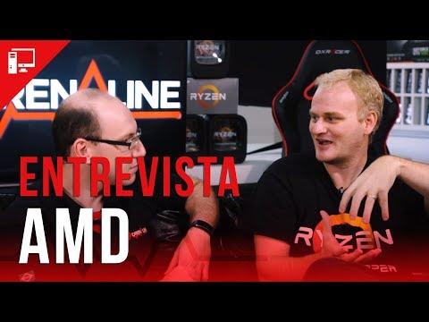 Ryzen de 2ª geração, novas marcas Radeon, 7 nm e mais na entrevista com Alfredo Heiss, da AMD