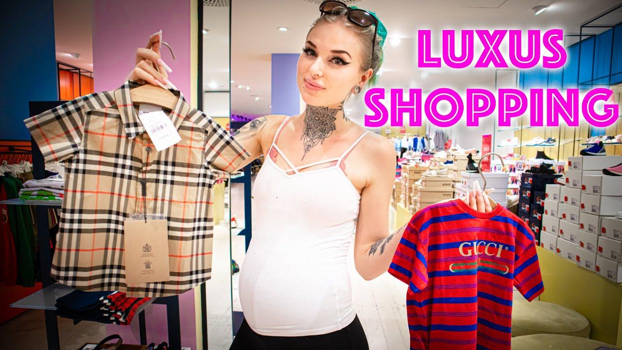 300 Euro für Gucci Strampler! 😱 Luxus Shopping Vlog