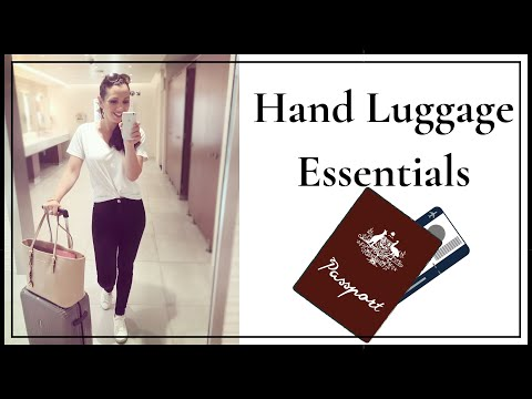 Hand Luggage Essentials: Pack like a pro
