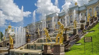 Peterhof. Petergof, St Petersburg, Russia. Live