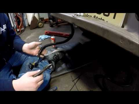 How to install a trailer hitch wiring harness 1996 ford ranger