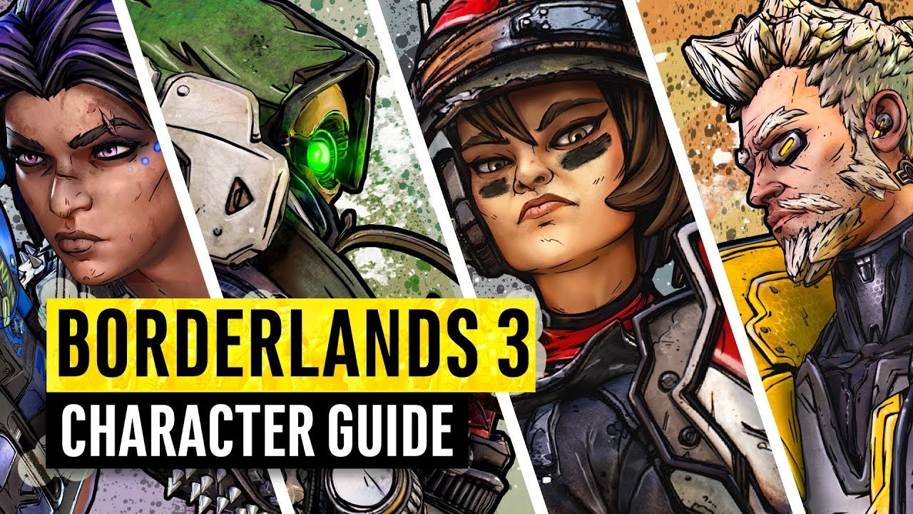 Borderlands 3 | Which Vault Hunter should you choose? Character Guide thumbnail