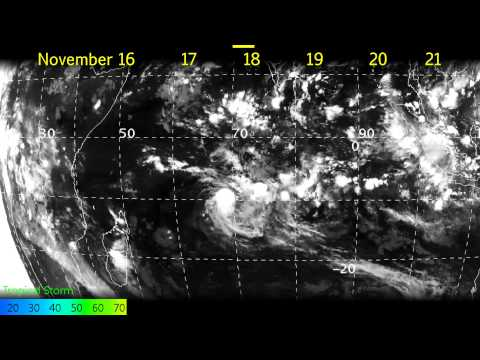 Tropical Cyclone Adjali (01S) - Satellite Imagery