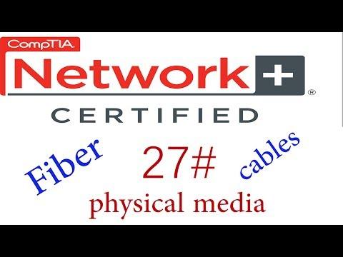 N + course #fiber optic cables #كورس نيتورك بلاس 27