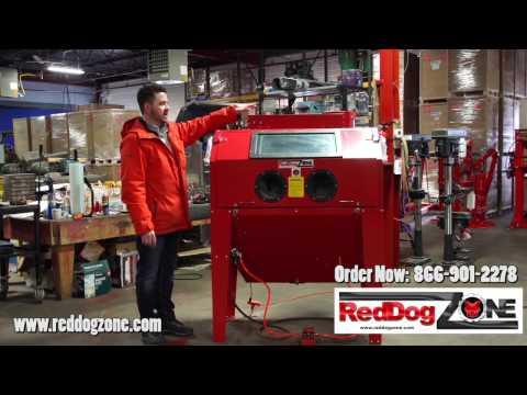 RedDog Zone 420L Sandblast Cabinet - Best Sandblasters In Canada