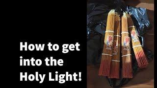 Getting into the Holy Light - Jerusalem