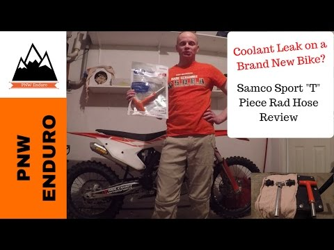 Samco Sport T piece rad hose review by PNW Enduro.