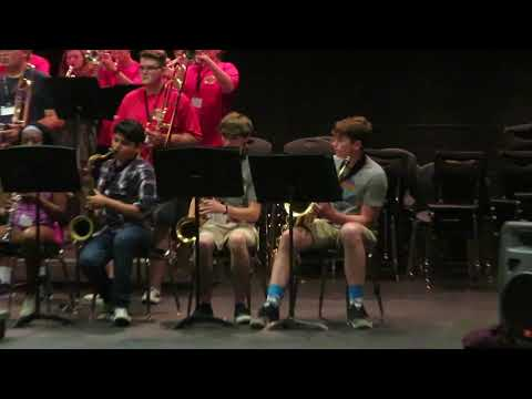 Northeast Mississippi Community College Band Camp Jazz Band One 2019