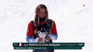 JO 2018 - Snowboard cross Femmes : Revivez la folle journée de Julia Pereira