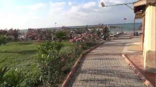 Eftalia Village Turkler plaża przejście podziemne FullHD