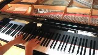 Bon Iver - I can't make you love me (Piano Cover)