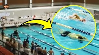 In Just One Breath! This Athlete Won a Championship in a Poo...
