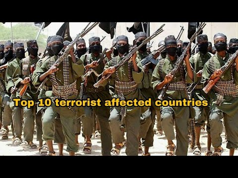 TOP 10 TERRORIST AFFECTED COUNTRIES IN THE WORLD || DATA BASIS