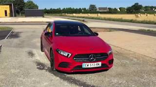 2019 Mercedes A-Class 180d AMG Line POV Walkaround and Drive