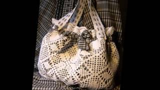 Красивые сумки сделанные своими руками - лучший  подарок