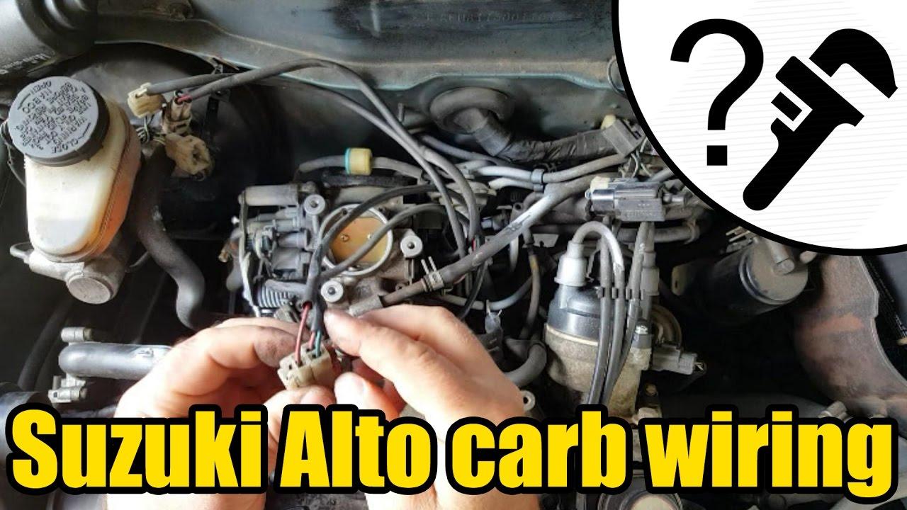 Suzuki alto carb wiring 1961 youtube suzuki alto carb wiring 1961 swarovskicordoba Choice Image