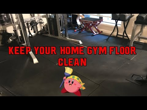 Easy Way to Keep Your Gym Floor Clean!