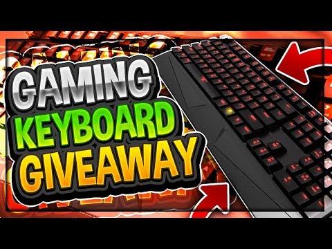 4000 Subs! | 4K iBuyPower Gaming Keyboard Giveaway! | (Mechanical Switches MEK1 Not Razer Chroma)