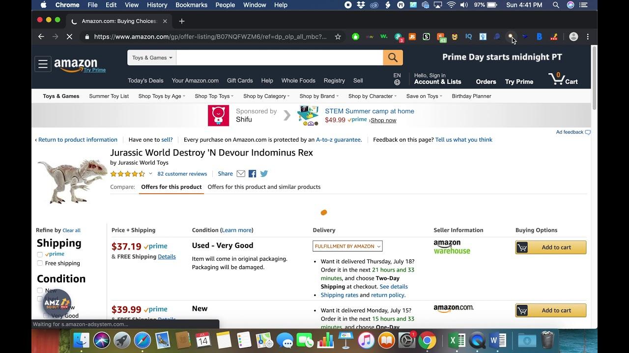 How to Spy on Amazon FBA Competitors Stock w/ Inventory Spy