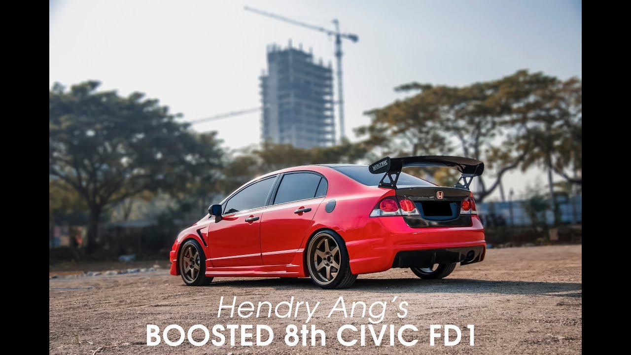ang 39 s boosted honda civic fd1 dynamic motion media youtube. Black Bedroom Furniture Sets. Home Design Ideas