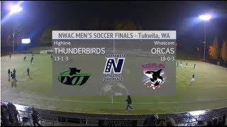 MSOC: NWAC Championship Final - Whatcom vs Highline