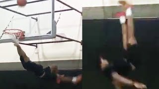 Jalen Ramsey ALMOST DIES After Failed Dunk Attempt Goes HORRIBLY WRONG!