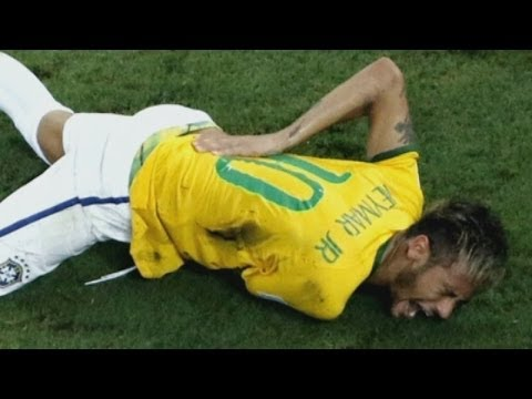 Brazil striker Neymar out of World Cup after back injury