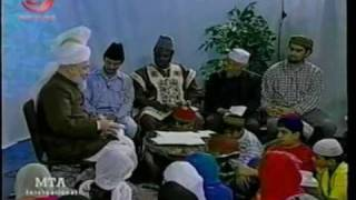 Jokes tells by Man of God Hazrat Mirza Tahir Ahmad(rah) #16