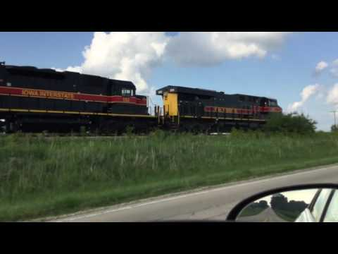 400th Sub Special Part 1: Chasing the Iowa Interstate CBBI from Atkinson to Bureau, IL 06/30/17