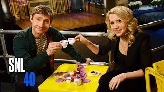 Repeat youtube video SNL Host Martin Freeman and Kate McKinnon Have A Tea Party
