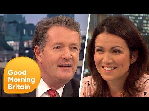 Piers Morgan and Susanna Reid Discover Their DNA Origins   Good Morning Britain