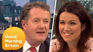 Piers Morgan and Susanna Reid Discover Their DNA Origins | Good Morning Britain