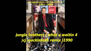jungle brothers( what u waitin 4 ) cj mackintosh remix  1990