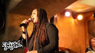 "Lalah Hathaway Performing ""Little Ghetto Boy"" Live in NYC 9/21/15"
