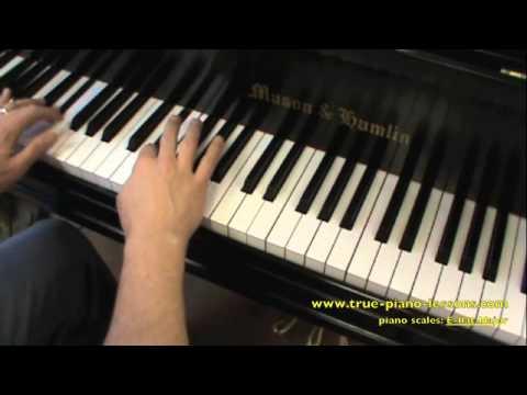 E flat Major Scale For Piano