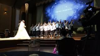 유성고 2-8 문용수 선생님 결혼식 축가