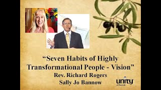 Rev. Richard Rogers', 'Seven Habits of Highly Transformational People  Vision'