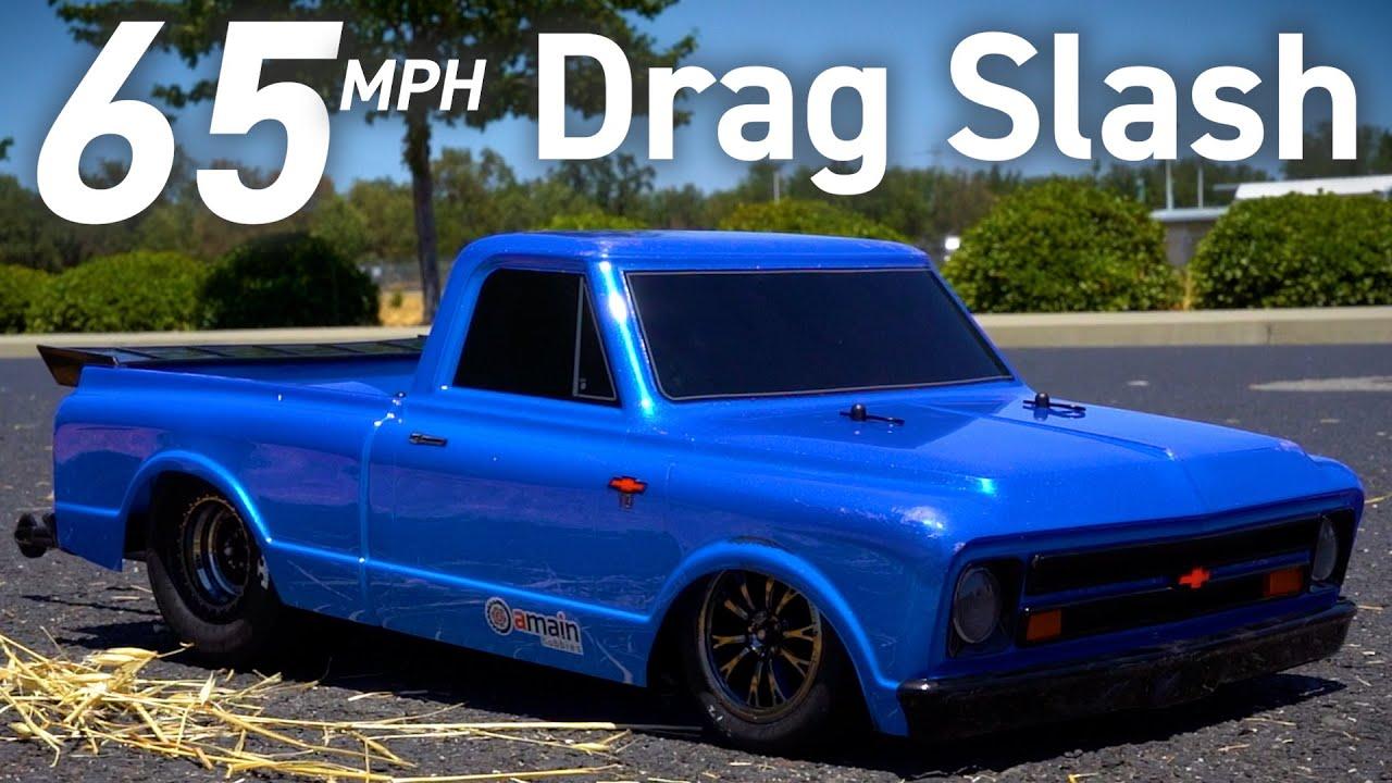 Chevy C10 R/C Drag Truck - Traxxas Drag Slash