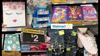 WALMART BACK TO SCHOOL SHOP WITH ME + CRAZY CLEARANCE ON CLOTHES AND SHOES