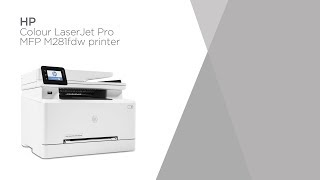 HP LaserJet Pro MFP M281fdw Laser Printer with Fax | Product Overview | Currys PC World