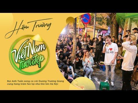 Bùi Anh Tuấn hát cùng Dương Trường Giang và hàng trăm fan tại Nhà thờ lớn Hà Nội | Việt Nam Tươi Đẹp