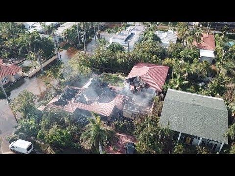 Hurricane Irma Damage Drone Video | Hollywood, FL