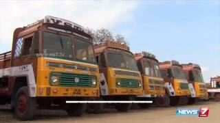 All India lorry drivers indefinite strike starts today | India | News7 Tamil |