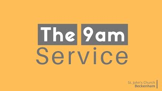 9am Traditional online service 13th September 2020