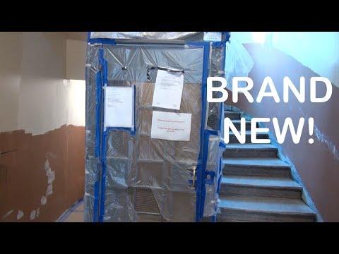 Brand new FAST Amslift Hydraulic elevator in Helsinki Finland