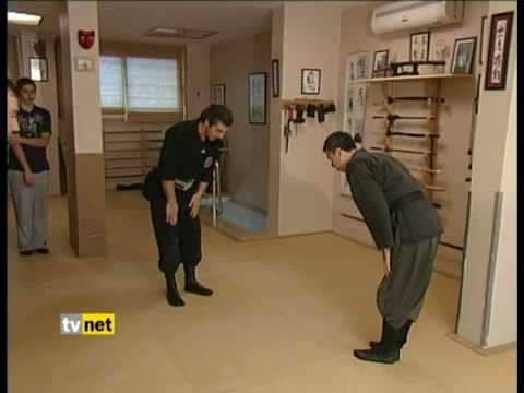 Bujinkan Turkiye Haburamu Dojo's on Turkish Channel