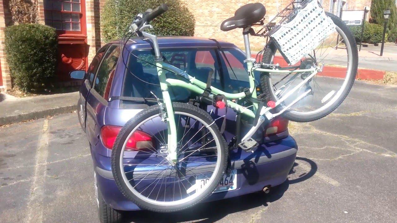 Schwinn Bike Rack 2 Bike Trunk Rack