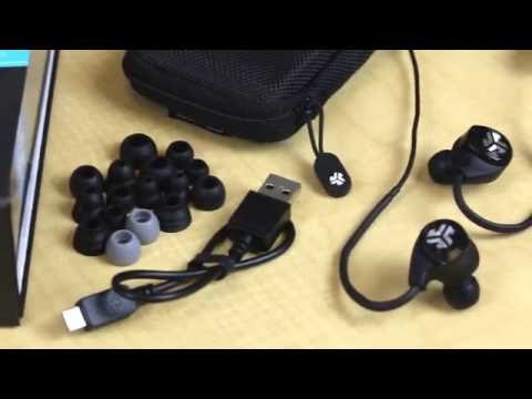 88249617440 Unboxing and First Look: Epic2 Bluetooth Earbuds by JLab Audio - YouTube