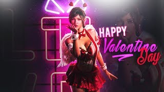 PUBG MOBILE   HAPPY VALENTINE'S DAY 😍 AIRDROP HUNTING :) SQUAD Serious Gameplay Lets Go Boyzzzz😉