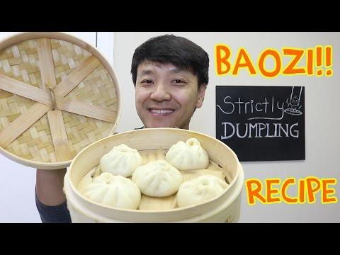 EASY DELICIOUS Chinese Pork Bun Recipe (Baozi 包子)